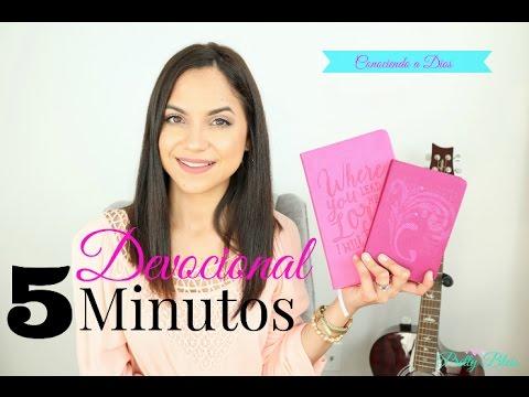 Devocional en 5 minutos | Conociendo a Dios