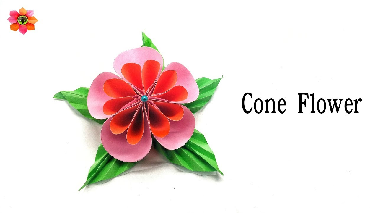 Cone kusudama flower diy tutorial 8 youtube cone kusudama flower diy tutorial 8 mightylinksfo