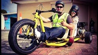 Motorized Drift Trikes | Crazy Tandem & Single Sliders