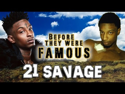21 SAVAGE - Before They Were Famous - ORIGINAL