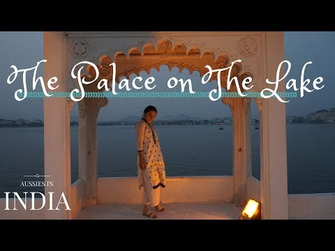 Dining in the Lake Palace