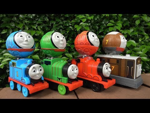 Thomas and Friends Toys Train Rail Rollers Fun Video