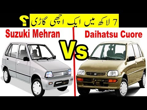 Suzuki Mehran Vs Daihatsu Cuore   Pakistan