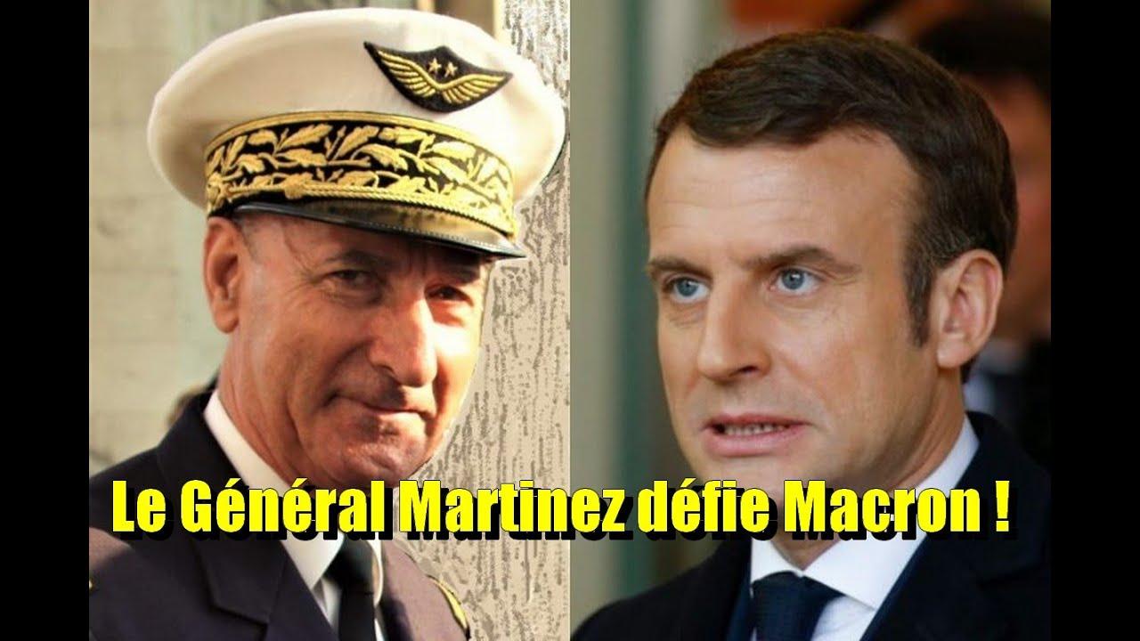 🔥 EXCLU Live avec le GENERAL MARTINEZ Candidat aux présidentielles de 2022 🔥 Il défie MACRON !