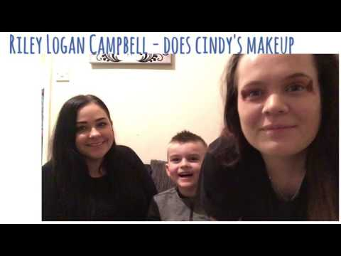 RILEY LOGAN CAMPBELL - DOES CINDY'S MAKEUP