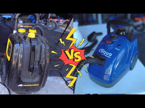 McCulloch 1385 vs Aqua Pro Steamer | Which Steamer Is Better For Auto Detailers?