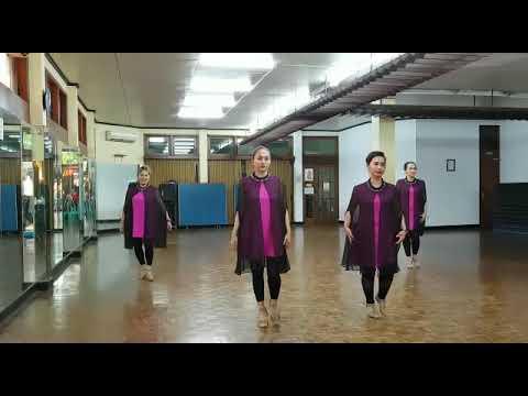 Rest Your Love On Me Line Dance ( Tuti HD ) Intermediate Demo