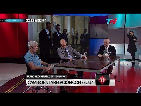 """J.Bárbaro, M.Birmajer, y N.Méndez en """"A dos voces"""" de M.Bonelli y E.Alfano - 22/03/16"""