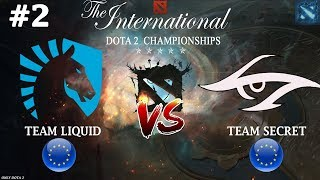 Не напрасно ли Мираклу отдали ИНВОКЕРА? | Liquid vs Secret #2 (BO3) | The International 2018