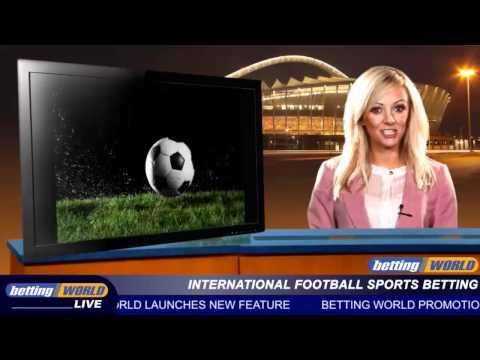 International football sports betting