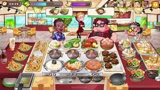 Cooking Adventure - Tteokbokki House Master Level 3 - Full Upgrade screenshot 2