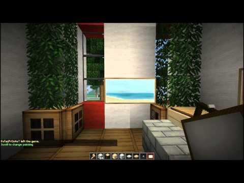 Minecraft Let's Build: 13x18 Italianate House Part 4