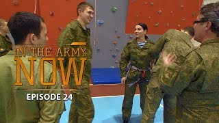 Russian mountain division obstacle course – In the Army Now Ep.24