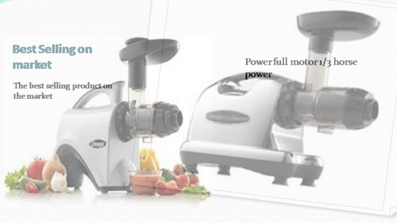 Omega j8006 nutrition center commercial masticating juicer - Why You Should Buy The Best Masticating Juicer Omega J8006