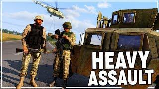 UKRAINE AIR ASSAULT ON SEPARATIST FORCES | Arma 3 Zeus