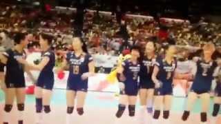 熱烈恭喜中國女排, 第8次加冕世界冠軍成功 , 同時直接穫得2016奧運入場劵!!