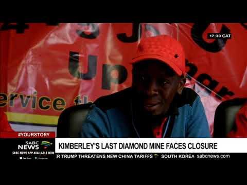 Threats Of Closure To Kimberley's Last Mine