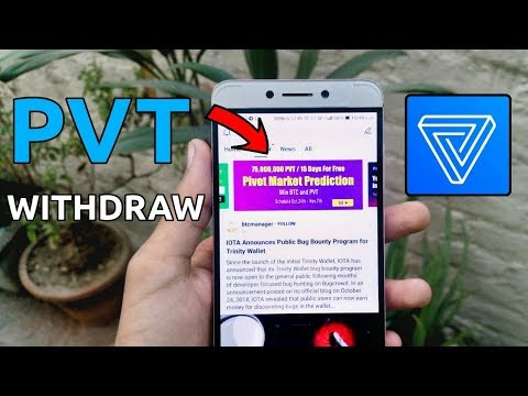 Pivot app PVT balance withdraw and prediction pvtp | BTC and phrase 7 pivot app updates