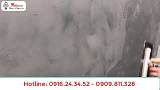 HƯỚNG DẪN THI CÔNG SƠN GIẢ BÊ TÔNG PUKACO - 0916243452