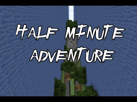 Dansk Minecraft Adventure Map // Half Minute Adventure