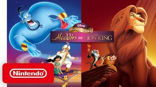 Disney Classic Games: Aladdin and The Lion King - Launch Trailer - Nintendo Switch