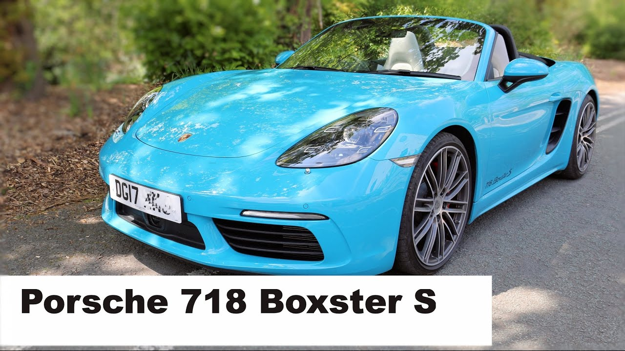 porsche boxster 718 better than previous generations youtube. Black Bedroom Furniture Sets. Home Design Ideas