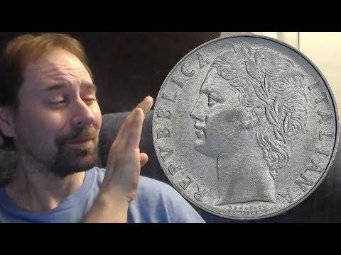 Italia 100 Lire 1977 Coin
