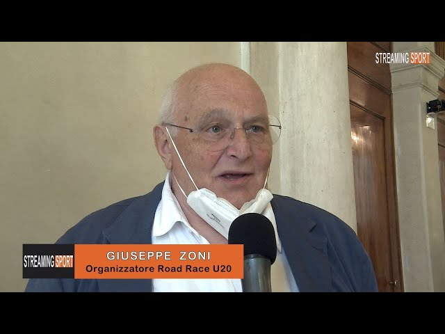 INTERVISTA A GIUSEPPE  ZONI - Organizzatore European Road Race Under 20