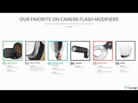 Our Favorite On-Camera Flash Modifiers | Lighting 101