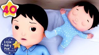 Rock-a-Bye Baby V2 | +More Nursery Rhymes & Kids Songs | Learn with Little Baby Bum