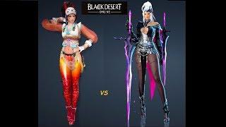 Black Desert PvP Kunoichi vs DK ПвП Куноичи vs Тёмный Рыцарь