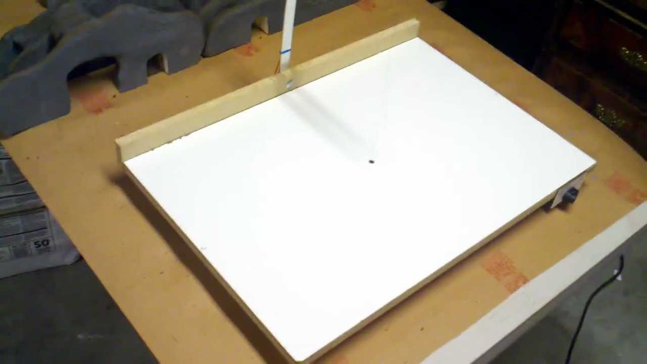 how to build a hot wire foam cutter table