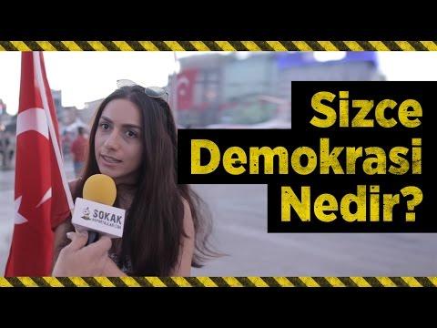 SİZCE DEMOKRASİ NEDİR? (2016 Taksim & 2013 Gezi Parkı'nda Sorduk) (#300)
