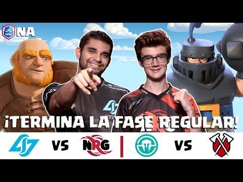 CRL Norteamérica: Counter Logic Gaming v NRG  Immortals v Tribe Gaming