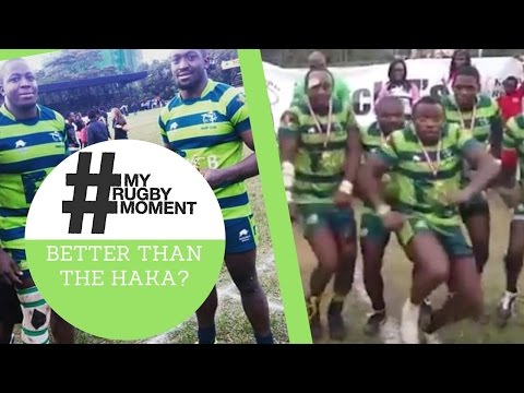KCB Rugby Club's Championship Winning Dance Moves! #MyRugbyMoment
