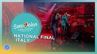 Ermal Meta & Fabrizio Moro - Non Mi Avete Fatto Niente - Italy - National Final Performance
