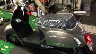 KYMCO Mitch50i ベスパを見にに来て買っていくバイク 中央オート 茨城県水戸市
