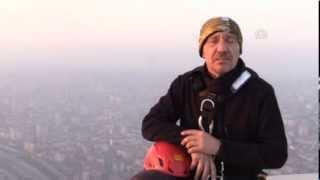 Anadolu Ajansı - Endüstriyel dağcılık