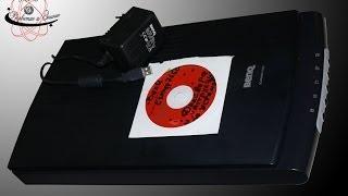 Інструкція по установці драйверів і для сканера BenQ