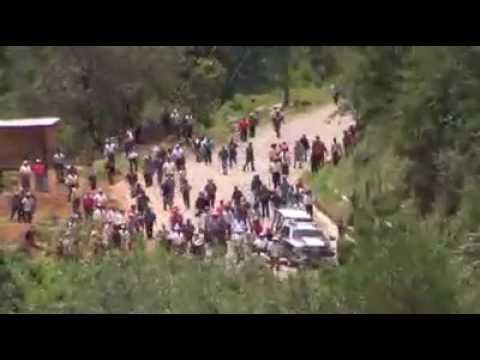 Filtran vídeo de balacera en región Mixe de Oaxaca que dejó un muerto