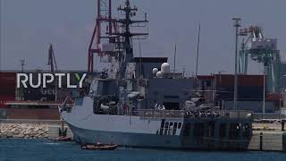 Spain: Third Aquarius rescue boat arrives to Valencia port