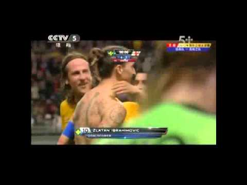 Zlatan Ibrahimovic full highlights vs England//11-14-2012//EP2