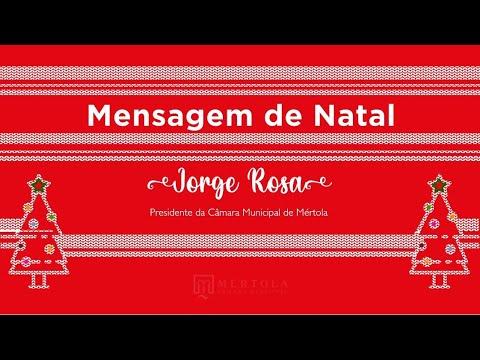 Mensagem de Natal do Presidente da Câmara Municipal de Mérto ...