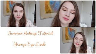 Summer Makeup Tutorial: Bronze Eye Look Thumbnail