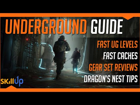 The Division | Complete Underground Guide For PS4 Players! Feat. Quick XP and Gear Set Guide
