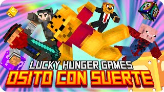 OSITO CON SUERTE! | Minecraft Lucky Blocks Hunger Games - Exo, Gona, Sara, Macundra y Luh