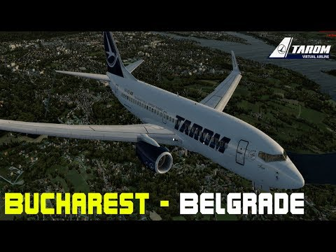 [LIVE STREAM] - P3D - Tarom Virtual Airline - Flying from Bucharest to Belgrade