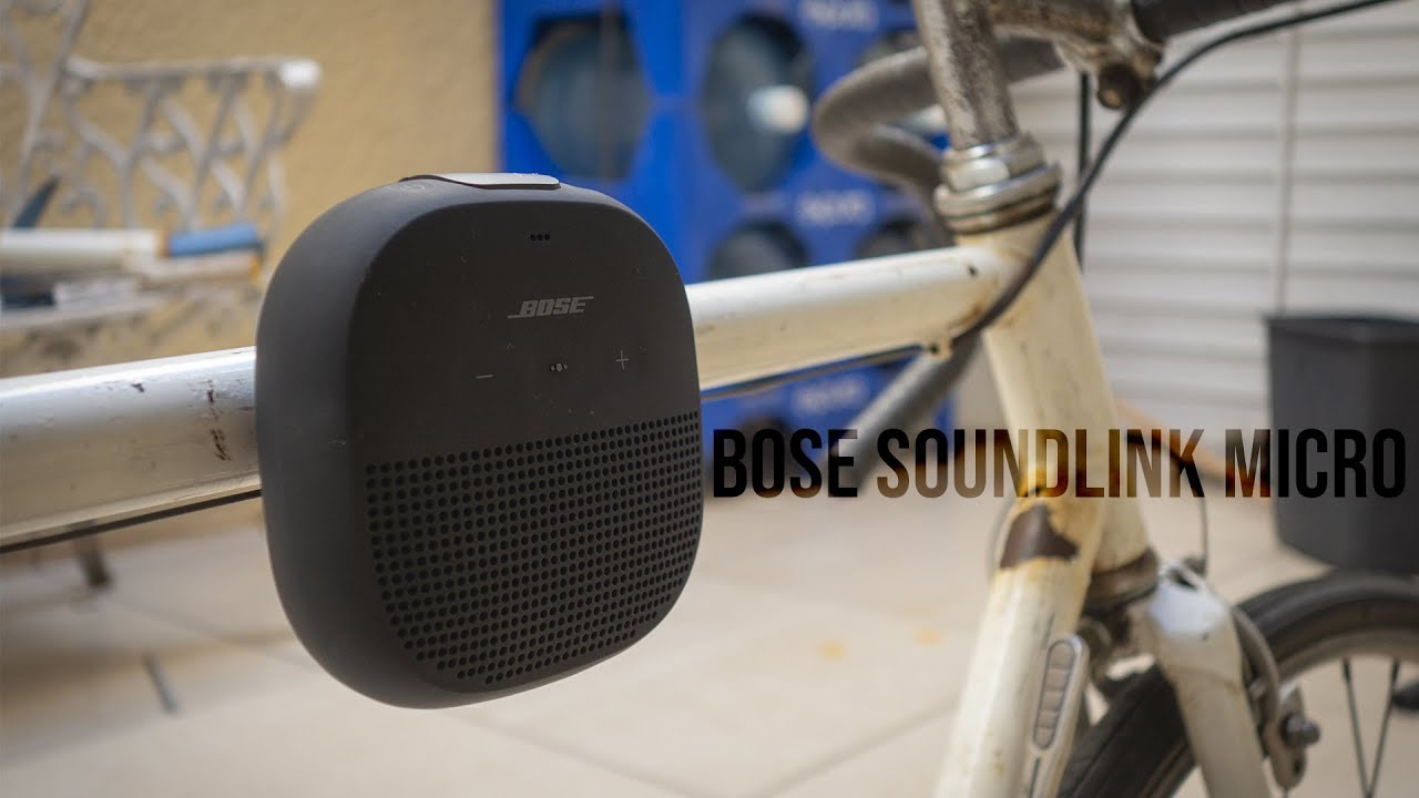 Análisis altavoz Bose SoundLink Micro