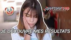 RÉACTION À MES RÉSULTATS PARCOURSUP mdr