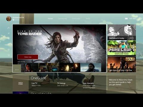 New Xbox One Experience Update & Walkthrough